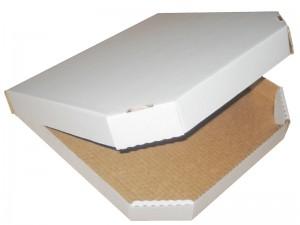 Коробка для пиццы, конструктив Б