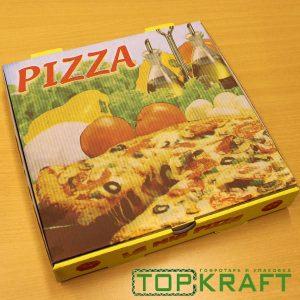 коробка для пиццы с логотипом